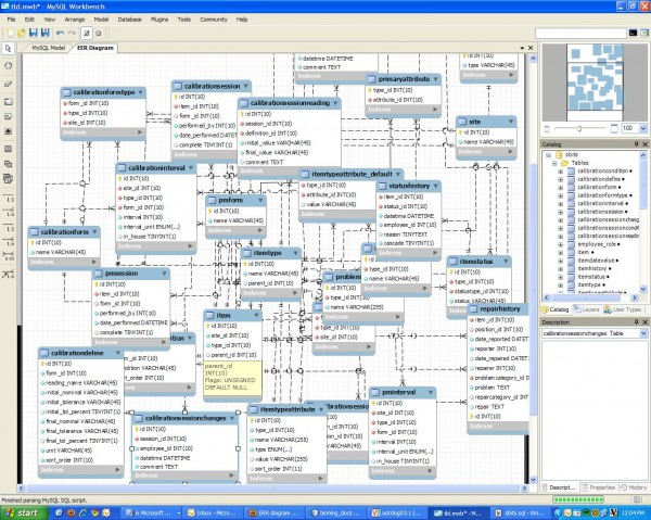 MySQL Workbench Screeshot